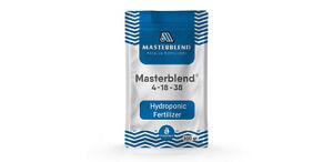 Masterblend 4-18-38 Hydroponic Fertilizer | Nutrients for Plants 0.75-11.3kg