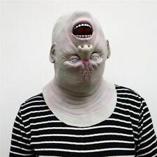 Fashion Creepy Novelty Halloween Costume Party Latex Upside Down Full Head Mask