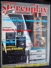 Stereoplay 10/86. accuphase DP 80,dc 81, YAMAHA T 85, NAIM NAT 01, mission Cyrus,