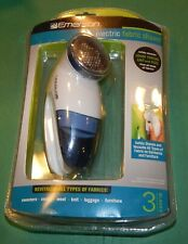 Emerson Electric Fabric Lint Shaver, Battery Operated w/3 Blades (New Old Stock)