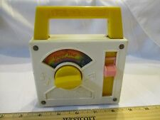 Vintage Fisher Price Pocket Radio Music Box works Over The Rainbow toy part fun