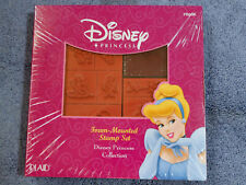 Disney Foam-Mounted Stamp Disney Princess Collection NIP