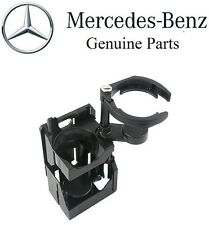 Genuine Front Center Console Dual Drink Can Coffee Coke Cup Holder fits Mercedes