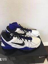 Nike Zoom Kobe VII Supreme White Black Concord 488244-100 size 10.5