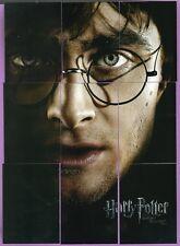 Harry Potter Deathly Hallows Part 2: 9 Card Foil Puzzle Set BP1-BP9