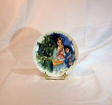 Cecile et Reoul a limited edition porcelain Limoge plate from The Durand's Child