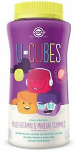 U-Cubes Children's Multi-Vitamin & Mineral Gummies by Solgar, 60 count