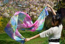 LUXURY BRIT Designer 100% Seta Sciarpa Fashion Natural Skincare donne musulmane l'hijab