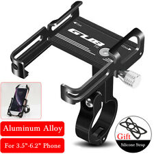 GUB Universal Aluminum Motorcycle Bicycle Bike Phone Holder MTB Handlebar