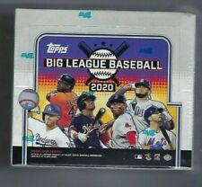 2020 Topps liga de béisbol Fábrica Sellada Hobby Big Caja | Caja de 1