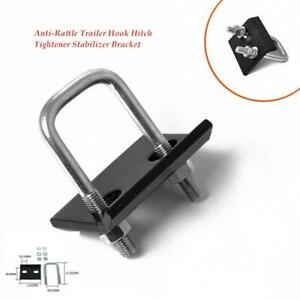 Auto Trailer Hook Hitch Tightener Stabilizer Bracket Anti-Rattle Mount Clamp