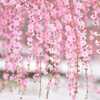 2M Artificial Flower Cherry Blossom Wedding Garland Vine Leaf Party Home Decor