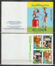 S36369 Georgia 2002 Europa Cept MNH Booklet Circus