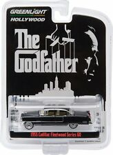 GREENLIGHT HOLLYWOOD 1/64 THE GODFATHER 1955 CADILLAC FLEETWOOD SERIES 60 44740