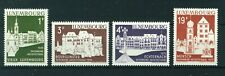 Luxembourg 1975 Architectural Heritage Year full set of stamps. MNH. Sg 943-946.