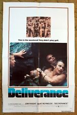 When you hear banjos you just might know this movie! 1972 orig 27x41 DELIVERANCE