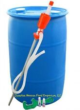 Emergency Purified Water Storage Kit and  55 GALLON Barrel