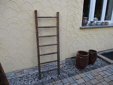 alte Holzleiter(112) Deco Blumenampel Baumleiter Handtuchhalter Kleiderhalter