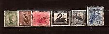 AUSTRALIA 1932/54 aves- birds patos,avestruces,diversos 1m226t6