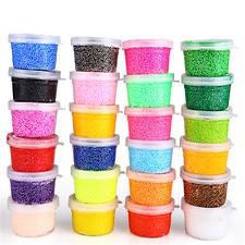 Soft Polymer Foam Modelling Clay Set Snow Pearl Mud Plasticine Toys