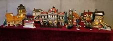 Heritage Village Collection Christmas in the City Series Dept 56 Huge Lot