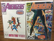 avengers 314-322 lot of 9,4.0 vg to 9.4 nm