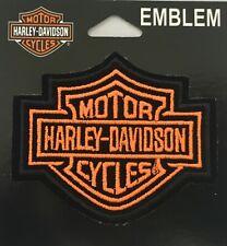 Harley Davidson Xs Neon Bar & Shield Patch Emblem Motorcycle Biker Vest EM302731