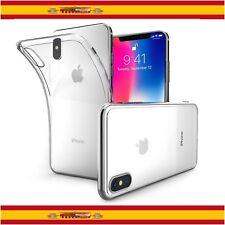 "Funda de Silicona Gel TPU Ultra Thin Slim para Apple iPhone X 5,8"" Transparente"
