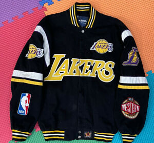 Lakers Kobe Bryant Size Small Jacket Black Lebron James Jeff Hamilton Black