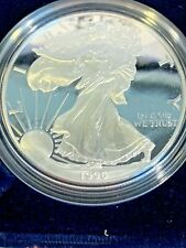 1996 & 1997 Silver American Eagle Proofs