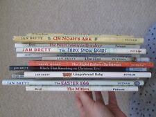 JAN BRETT HCDJ LOT 13~Reindeer~Gingerbread~Snow Bears~Xmas~Beauty~Easter~Trolls~