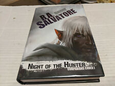Night of the Hunter by R. A. Salvatore (2014, Hardcover) Signed 1st/1st