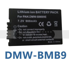 DMW-BMB9E Battery for Panasonic Lumix DMC-FZ40 FZ45 FZ150 FZ100 FZ47 Camera BMB9
