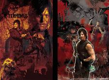 Daryl Dixon Norman Reedus Walking Dead 2 prints Lot 11 x 17 High Quality Posters