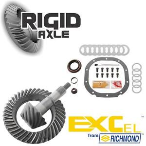 """Ford 8.8"""" 10 Bolt 3.73 Richmond Excel Ring and Pinion Gear Set w/ Install Kit"""
