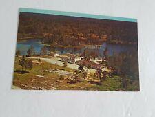 Eden Roc Motel Pointe au Baril Ontario Postcard Vintage Unposted