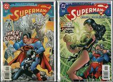 SUPERMAN  Adventures Of #605 #607 (2002) Near Mint Unused   NM Ref:F2.183