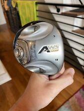Walter Hagen AWS Fairway 5 Wood Golf Club 18 Degrees Fujikura R Shaft With Cover