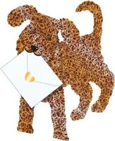 Cockapoo 3D Special Delivery Animal Greeting Card Blank Own Message Cards