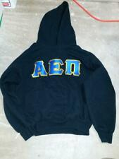 Alpha Epsilon Pi Aepi Sweatshirt Hoodie Hoody Black Gildan no string Used Large