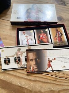 Lebron James 2003 Upper Deck Exclusive 32 Card RC Box Set Lakers Opened Mint