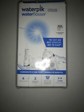 Waterpik Cordless Water Flosser Rechargeable Portable Wp-560 White