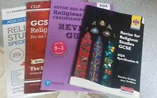 AQA GCSE STUDY GUIDES Bundle of Four Books