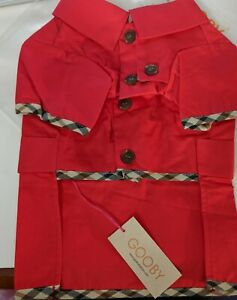 Gooby Dog Apparel NEW XL - Red