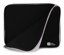 Black Protective Neoprene Case for Samsung Chromebook Series 3 w/ Dual Zips