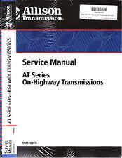 Allison AT540 AT542 AT543 AT545 AT1542 AT1545 Highwy Transmission Rebuild Manual