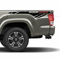 Set of 2: SR5 4x4 off-road bedside vinyl decal fits Toyota Tacoma 2013-2020
