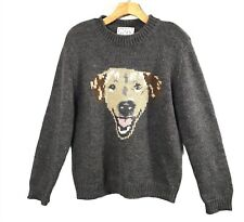 Urban Outfitters Peter Jensen Dog Sweater Size Small Gray Golden Lab Mixed Breed
