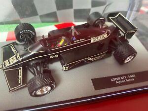 Formula 1 Panini collections nr 36 - LOTUS - 97T - 1985 - Ayrton SENNA