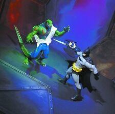 BATMAN VS KILLER CROC  Exclusive ACTION FIGURE  2 PACK  DC  New  2004